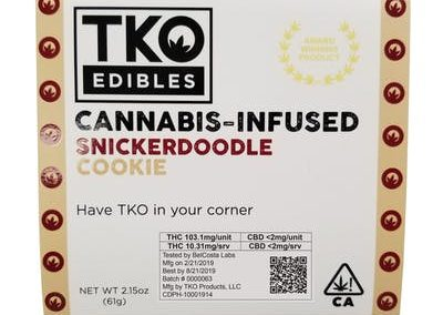 TKO Edibles Snickerdoodle Cookie
